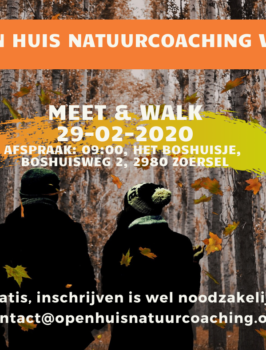 Meet & Walk Open Huis Natuurcoaching